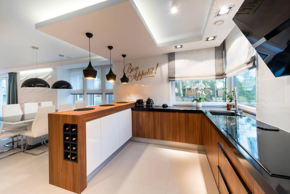 Veja 7 pontos essenciais para a decoração de cozinha americana!